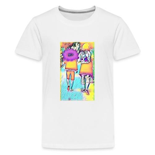 T-shirt wants To escape - T-shirt Premium Ado