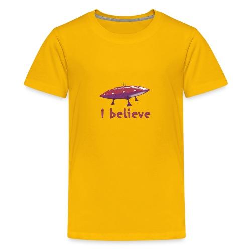 I believe - Teenage Premium T-Shirt
