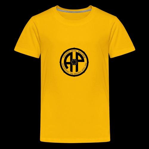 Logo 2019 Schwarz - Teenager Premium T-Shirt