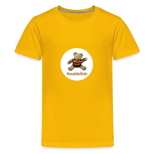 Teddybär Knuddelbär Schmusebär Teddy orange braun - Teenager Premium T-Shirt