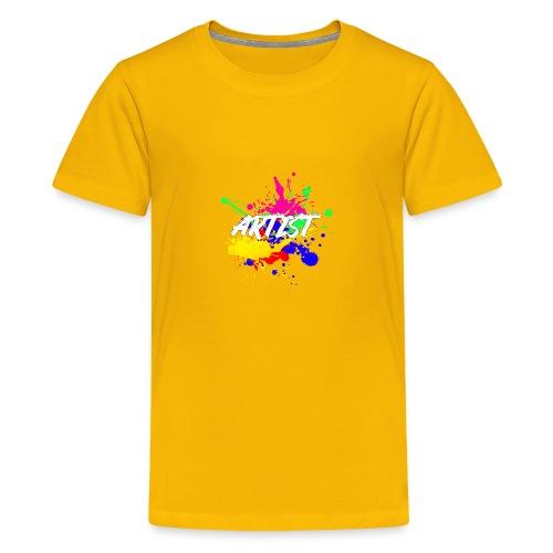 Montrez que vous êtes un Artiste International - T-shirt Premium Ado