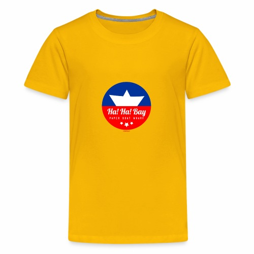Ha! Ha! - Teenager Premium T-shirt