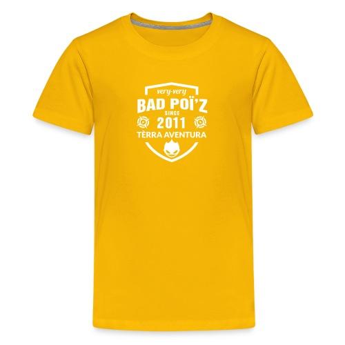 Flexographie BadPoiZ 10 - T-shirt Premium Ado