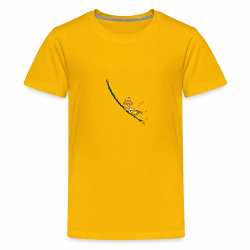 cartoon_Kleimdesign_tarze - Teenager Premium T-Shirt