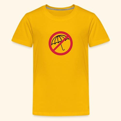 Regenschirm - Teenager Premium T-Shirt