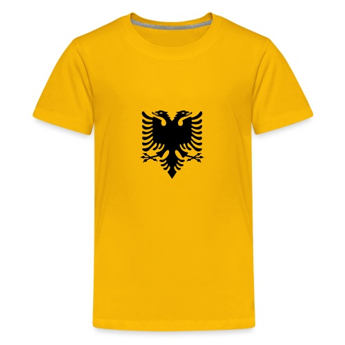 Albanian_Eagle.svg.png - Teenager Premium T-Shirt