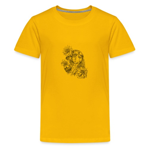 Dahlien Cavalier - Teenager Premium T-Shirt