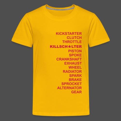 dwa RD - Koszulka młodzieżowa Premium