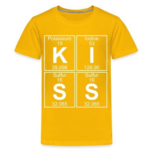 K-I-S-S (kiss) - Full - Teenage Premium T-Shirt