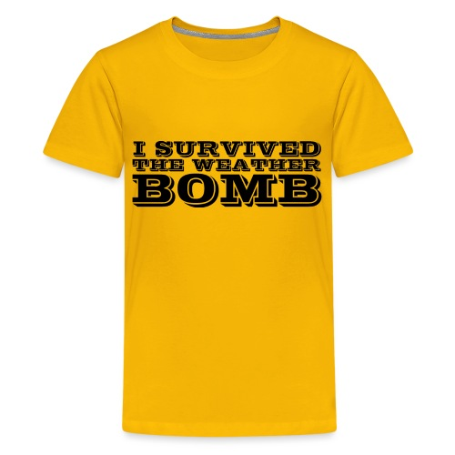 Weather Bomb - Teenage Premium T-Shirt