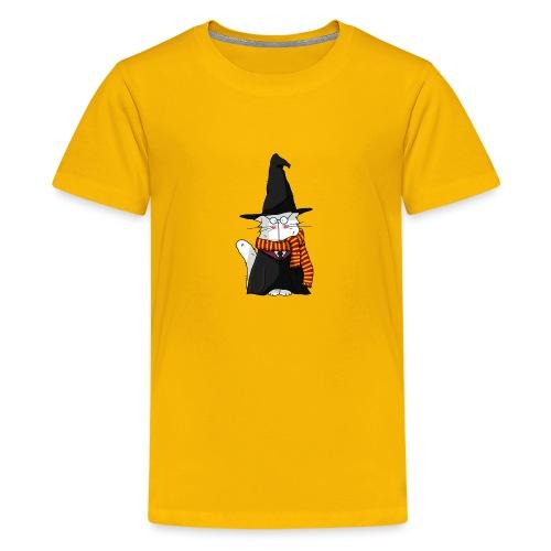 Le chat sorcier - T-shirt Premium Ado