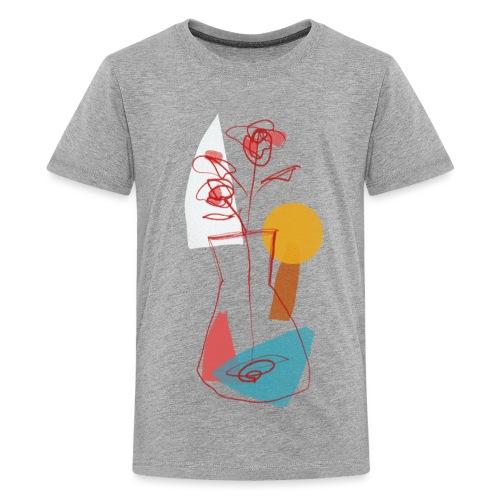 Abstract sun - Maglietta Premium per ragazzi