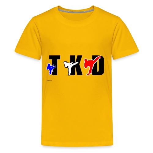 Design Taekwondo - T-shirt Premium Ado
