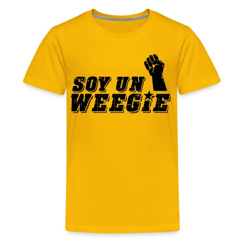 Soy Un Weegie - Teenage Premium T-Shirt