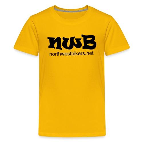 nwb logo3 - Teenage Premium T-Shirt