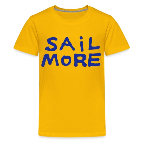 Sailmoreshirt Vorn - Teenager Premium T-Shirt