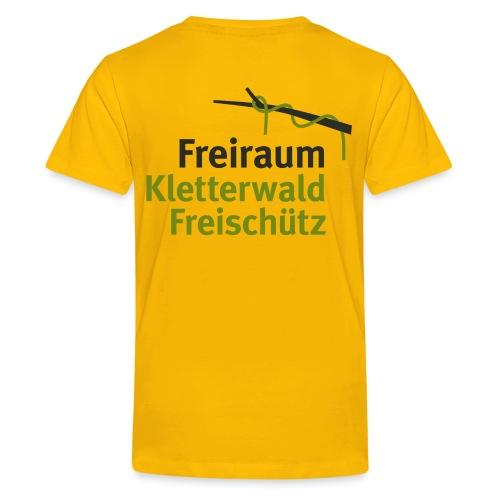 KLETTERWALD Freischütz Fanshop - Teenager Premium T-Shirt