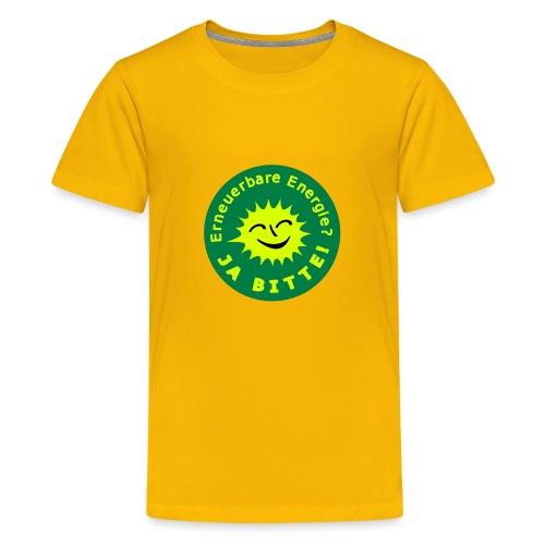 Erneuerbare Energie 02 - Teenager Premium T-Shirt