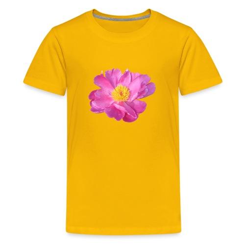 TIAN GREEN Garten - PfingstRose - Teenager Premium T-Shirt