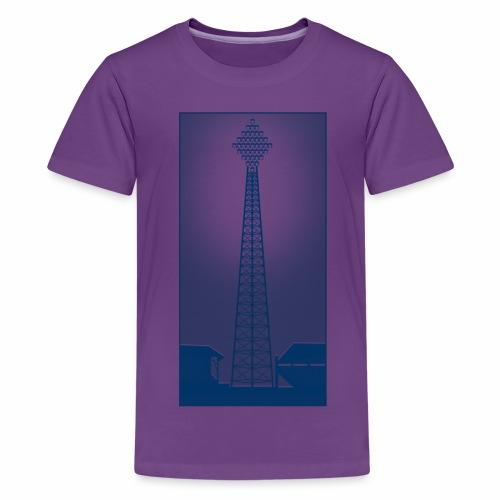 FLOOD NIGHT - Teenage Premium T-Shirt