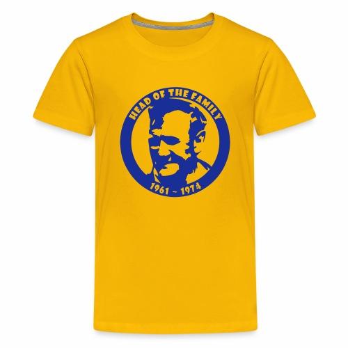 HEAD OF THE FAMILY - Teenage Premium T-Shirt
