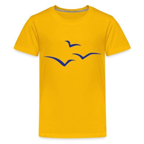 logo voegelv11 - Teenager Premium T-Shirt