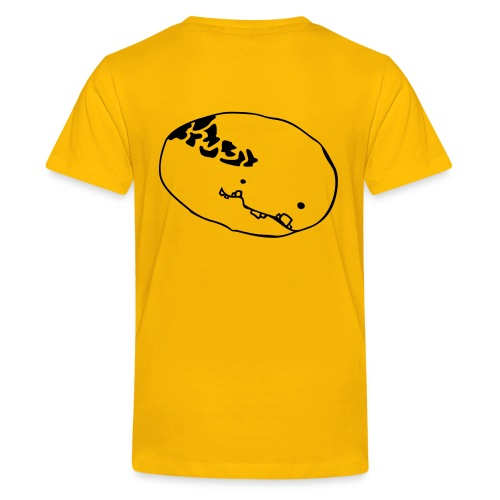 monster head Plottmotiv - Teenager Premium T-Shirt