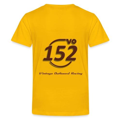 152VO Klassenzeichen mahogany - Teenager Premium T-Shirt