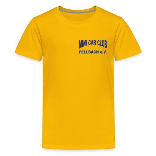 ruecken - Teenager Premium T-Shirt