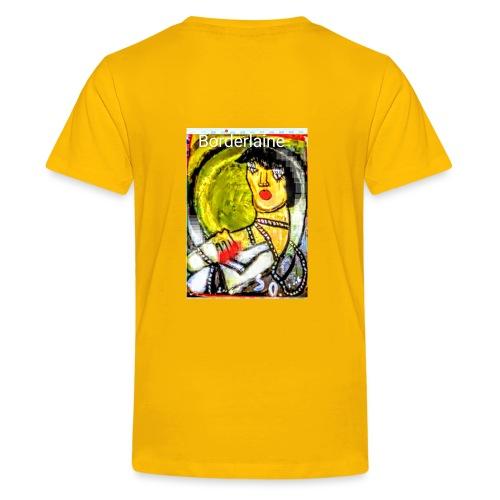 covid borderline - Maglietta Premium per ragazzi