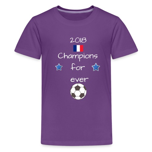 Championd du monde 11 - T-shirt Premium Ado
