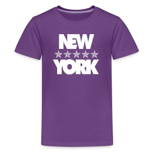 NEW YORK - Teenage Premium T-Shirt