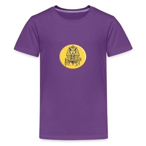 Echnaton, Sonnenkönig im alten Ägypten - Teenager Premium T-Shirt