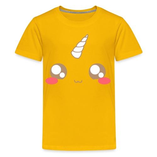 Kawaii_T-unicorn_EnChanta - Teenage Premium T-Shirt