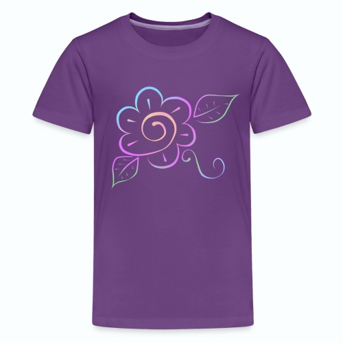 Tonalidades de en flor - Camiseta premium adolescente
