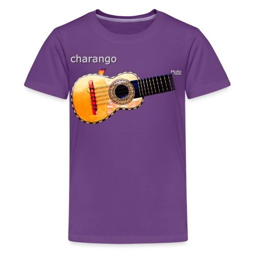 Charango - Camiseta premium adolescente