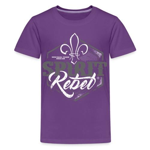 Spirit-Rebel® Modern Pascal Voggenhuber - Teenager Premium T-Shirt