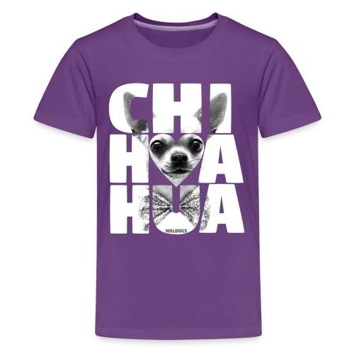 NASSU Chihuahua Grey - Teinien premium t-paita