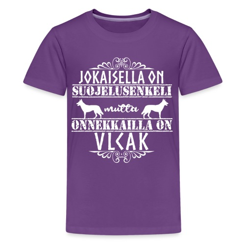 Vlcak Enkeli - Teinien premium t-paita