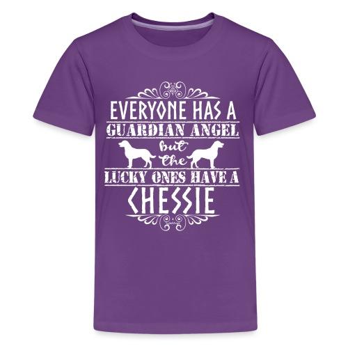 Chessie Angel - Teinien premium t-paita