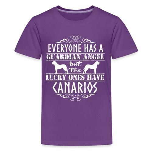 Canario Angels - Teinien premium t-paita