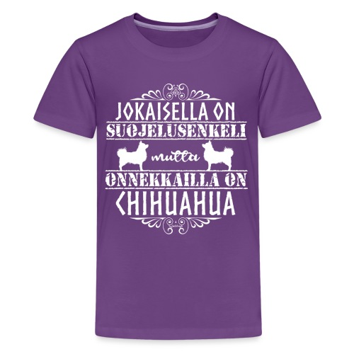 chihuenkelipk - Teinien premium t-paita