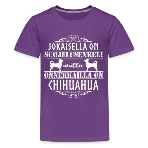 chihuenkelilk - Teinien premium t-paita