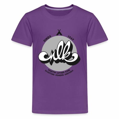 MLK Scouting 50 jaar - Teenager Premium T-shirt
