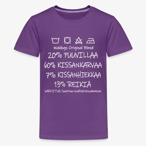 Kissi Original Blend II - Teinien premium t-paita