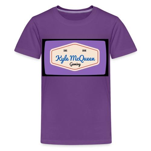 tvlogo jpg - Teenage Premium T-Shirt