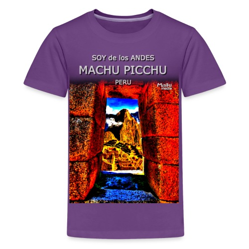 SOJA de los ANDES - Machu Picchu II - Teenager Premium T-Shirt