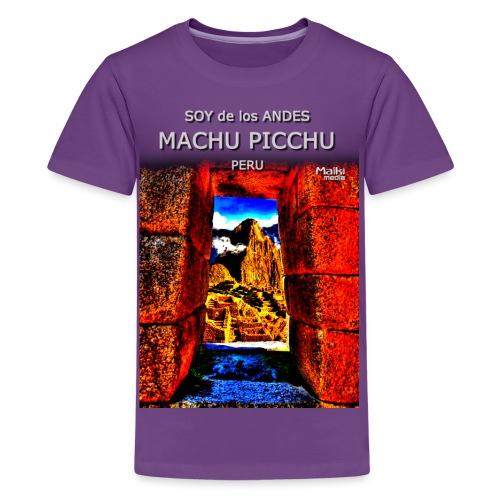 SOY de los ANDES - Machu Picchu II - Teenage Premium T-Shirt
