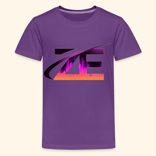 Official ZE's logo - Teenage Premium T-Shirt