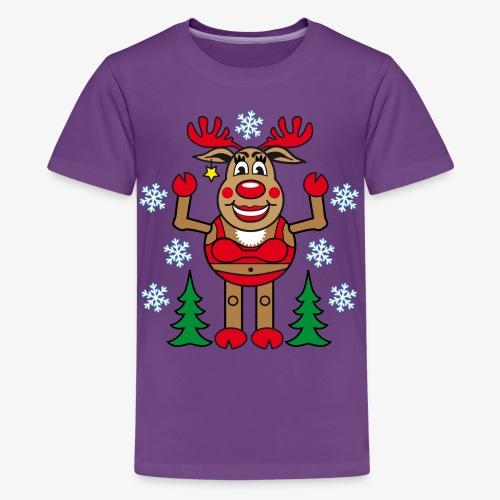 48 Madame Rudolphine Xmas - Teenager Premium T-Shirt